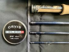 """ORVIS HELIOS 2 4wt 8'6"""" 486-4 Mid Flex Fly Fishing Rod (Trout Unlimited Edition)"""
