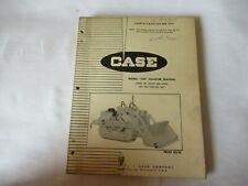 1967 Case 750 Crawler Tractor Parts Catalog Book Manual