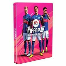 Fifa 19 Ultimate Team Special Edition PS4 XBox Steel Case Box Pink No Game