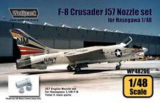 Wolfpack WP48206, F-8 Crusader J57 Engine Nozzle set (for Hasegawa), SCALE 1/48