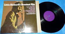 Little Richard's Greatest Hits Live! / Okeh Stereo LP Nice