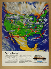 1987 Honda Civic Wagon Real Time 4WD vintage print Ad