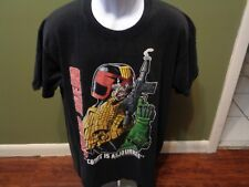 Judge Dredd Movie T Shirt Sylvester Stallone Vintage VTG SIZE ADULT XL