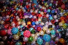 @90g huge selection random job lot beads all colours sizes styles