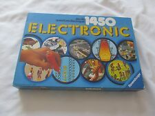 Vintage 1980 ELECTRONIC 1450 QUESTIONS Game Jeu Complete FRENCH FRANCAIS works