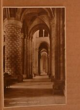 Unposted Postcard Durham Cathedral, South Aisle Real photgraph