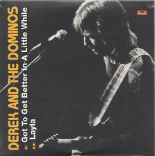 """DEREK AND THE DOMINOS Got to get better in a little while 7"""" Vinyl Single sealed"""
