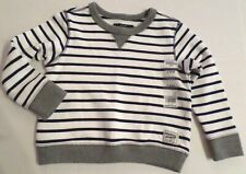 Oshkosh Baby Boys Pullover Striped Sweatshirt...