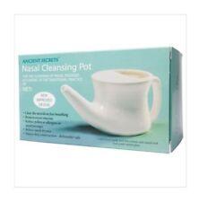 Ancient Secrets Neti Nasal Cleansing Pot