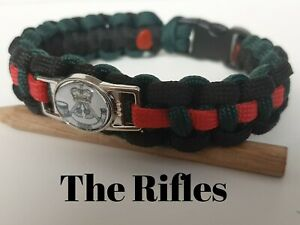 The Rifles Paracord Wristband