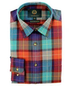 Viyella 80/20 Multicoloured Rich Check Classic Fit Shirt