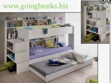 Single Bunk KIDS 2 X Beds With Pullout Trundle New Design Made In France Save !!