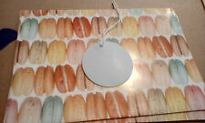 DELICIOUSLY MACAROON  WRAPPING PAPER + GIFT TAG CUP[CAKE SWEET TAKE A LOOK