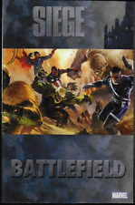 Siege: Battlefield by Keiron Gillen, Christos Gage & more TPB 2010 Marvel OOP