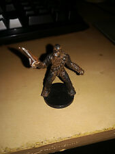 star wars miniatures collection chewbacca of kashyyyk 7/60
