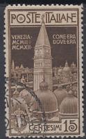 Italy Regno - 1912 San Marco - Sassone n.98 cv 100$ used