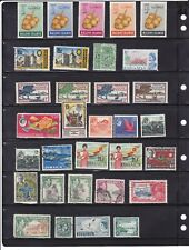 CARIBBEAN nice lot 52 of old mixed country used-MH-MNH (1089)