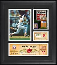 Wade Boggs Boston Red Sox Framed 15x17 HOF Collage w/ Piece of Game-Used Ball