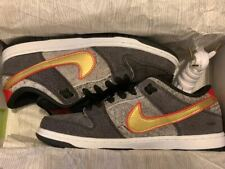 66ab3eeb798 2014 Nike Dunk Low Premium SB BEIJING CHINA BLACK METALLIC GOLD 504750-077  DS