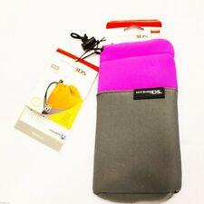 Official Protective Soft Cases(PURPLE) For Nintendo 3DS/DSi XL/DSi/DSLite