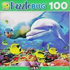NEW Puzzlebug 100 Piece Jigsaw Puzzle  Dolphin Friends