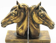 Horse Bookends - Bronzed Aged Appearance