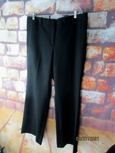 Ann Taylor The Madison Flare Trousers Size 18 Kate Fit Black Size 18 NWT