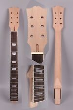 1x Electric Guitar Neck Replacement 22 fret 24.75 inch set in Trapezoid inlay