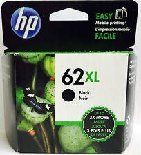 HP Genuine 62XL Black Ink Cartridge HP ENVY 5540,5643,5542,5544,5640,5642