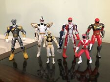 Power Rangers Figures Lot 6 - Vintage, Bandai