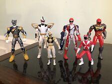 Power Rangers Figures Lot 6 - Vintage, Bandai