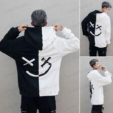 Mens Hoodie Sweatshirt Sweater Hooded Tops Jacket Coat Outwear Pullover Hip-hop