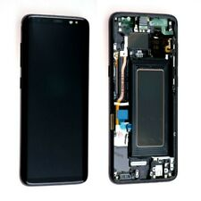 LCD S8 G950F ECRAN LCD TACTILE SAMSUNG GALAXY AVEC CHASSIS NOIR