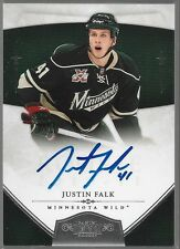 10/11 Dominion Auto Rookie RC Justin Falk /199 188 Wild