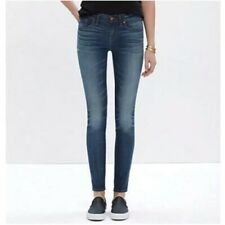 Madewell Skinny Skinny Jeans 28 Womens Mid Rise Stretch Ankle Crop Edmonton Wash