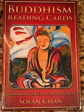 Buddhism Reading Cards, Wisdom for Peace, Love and Happiness NEW Sealed