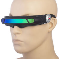 Space Robot Alien Party Costume Futuristic Frame Robot Sunglasses Robocop
