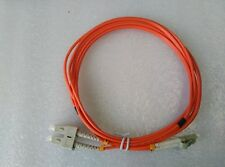 10-Pack 2.5M SC LC Duplex 50/125 Multimode OM2 Fiber Optic Cable Patch Cord