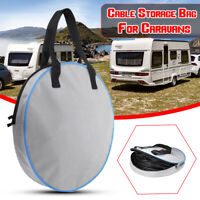 Harness Lead Cable Storage Bag Case Caravans Hook Up Large For Motorhome Camper