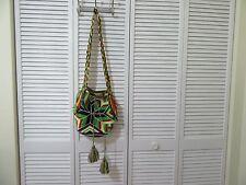Wayuu Mochilas handwoven knit bucket bag, purse, Boho, ethnic,tribal, colorful