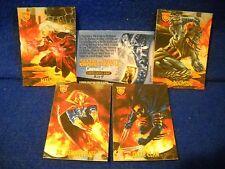 1996 Skybox Amalgam (Marvel vs DC) CANVAS Insert #4
