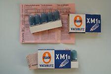 OSRAM vacublitz xm1b vieja forma en azul, envase 5 St. rayo peras Boxed/embalaje original