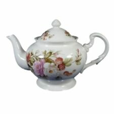 New Delton Molly's Rose Porcelain Teapot