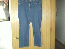 ladies size (20wp) fadded glory jeans button n zip front