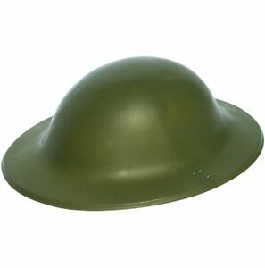 Plastic Army Helmet - Costume Accessory Fancy Dress Up World Book Day Soldier
