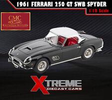 CMC M-094 1:18 1961 FERRARI 250 GT SWB CALIFORNIA SPYDER BLACK