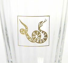 BACCARAT Crystal 2013 Chinese YEAR OF SNAKE Tumbler Zodiac 2613000 MINT IN BOX