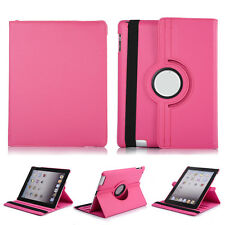 For Apple iPad 2-3-4 360 Rotating Folio Stand Magnetic Leather Case Cover