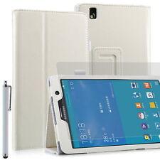 Funda para Samsung Galaxy Tab Pro (T320) - 8,4'' - Blanco + lápiz + protector