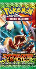 SEALED Pokemon Dragon's Exalted English Gyarados Artwork  Booster Pack